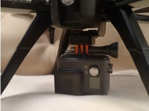 GoPro Mount for Existing Bugs 3 Camera Mount