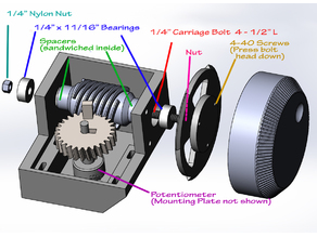 Large Potentiometer Knob