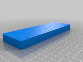 My Customized Dremel bit storage tray