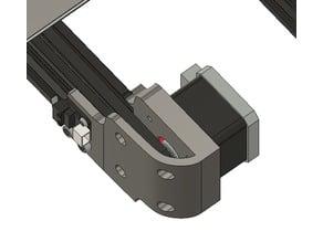 Ender 3 Y Damper/Motor adapter