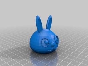 Bunny Sculpture II (head only)