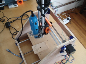 Yet another CNC milling machine for PCB - REMIX - 12.7mm Ply Version