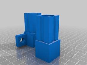 Printer enclosure base connector