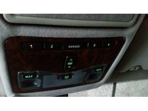 2001 Jaguar VDP Garage Door Opener Button 1