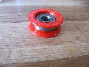 Side guide for 608 bearings