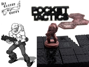 Pocket-Tactics: Mutant Bounty Hunter (Second Edition)