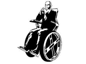 Professor Charles Xavier stencil