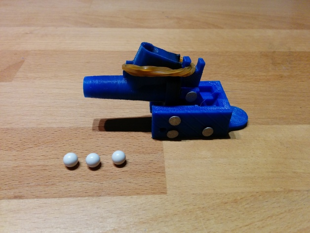 Rapidfire Airsoft Cannon By Kittka Thingiverse