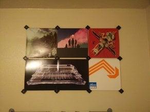 Vinyl Record Wall Mounts