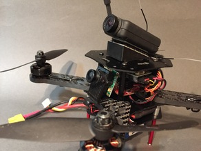 FPV Race Camera Mount - PZO 420M, 20 Degrees