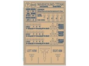Warhound Terminal Mk1 versions 1 & 2