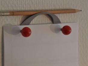 Note paper holder / universal holder