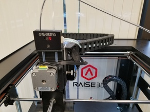 Raise3D N2 Filament Run-Out Sensor Back Cover for Bondtech Extruder