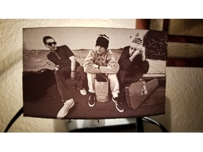 Beastie Boys Lithophane