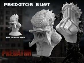 Predator Bust Sculpt (HD)