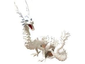Lung Oriental Articulated Dragon fix