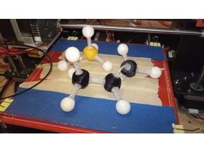 Chemical molecules Molymod