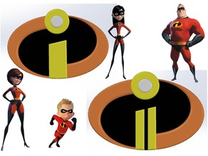 Logos INCREDIBLES 1 & 2