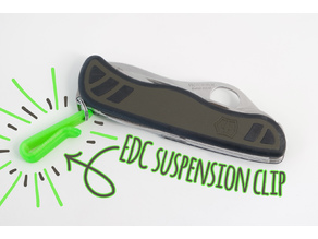 EDC suspension clip