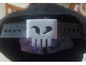 Skull Snapback Hat Extender