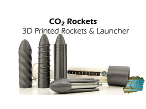 CO2 Rockets & Launcher Components