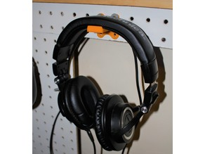 Head Phone Stand: Wall Mounted