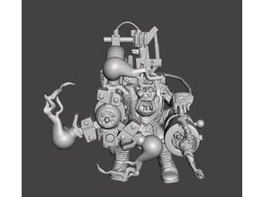 Mechanical Ork Shocker Weapon Flash Git