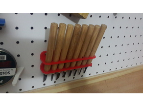 Gauges holder - Pegboard