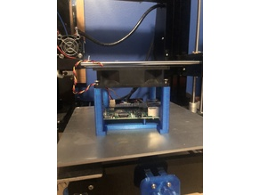 Raspberry pi 3 b+ 92mm fan stand
