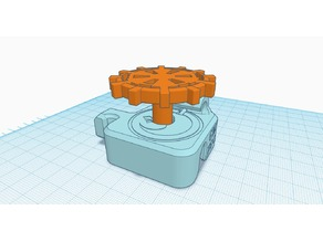 CR-10 Extruder Cover & Knob v3 for Direct Drive