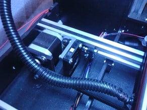 "MakerFarm 8"" i3v Y Motor Fan Mount"