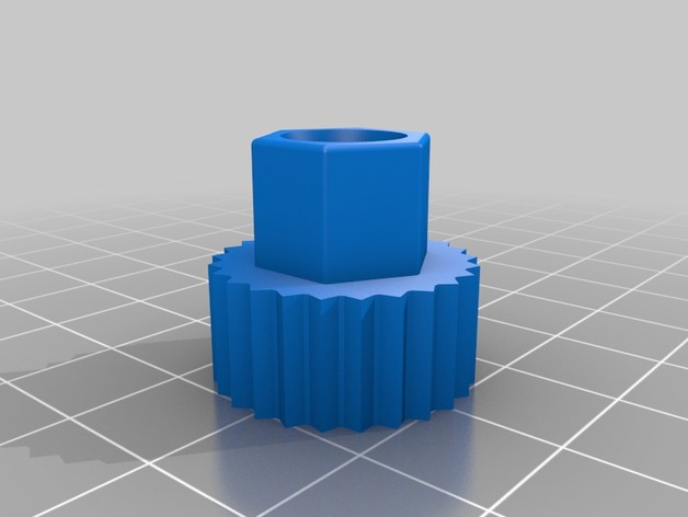 M4 Nut for RC Car Setup Wheels by Ben___ - Thingiverse