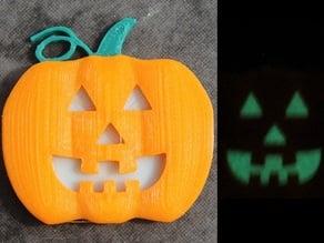 Glowing Pumpkin Pendant/Pin