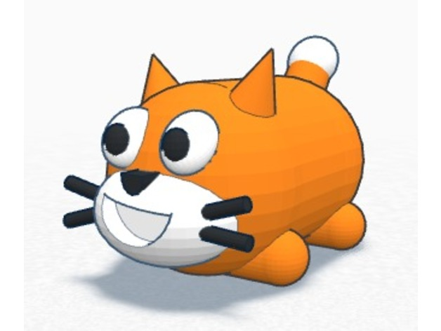 Scratch Cat Tsum Tsum By Ardylai Thingiverse