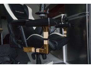 DxRacer HOTAS mount