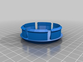 Center cap cover wheel - Parametric