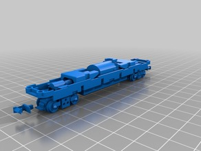 Tomytec TM-05R N scale chassis