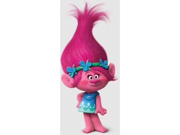 princess poppy by patrickprintsmalta thingiverse troll clipart border troll clipart border