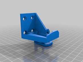 Anet A8 Extruder chain and BL touch mount