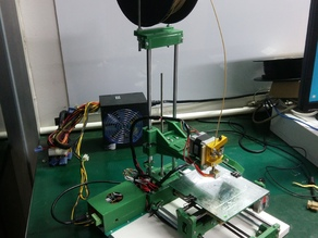 Atomx upgrades for direct drive extruder, top filament spool, endstops  ...