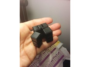Seb's remixed infinity cube, 15mm cubes, tight and loose