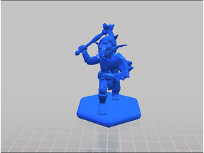 Low Poly Goblin - Figure, Game Piece