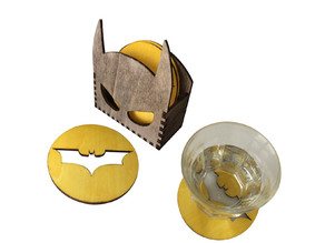 Batman coasters