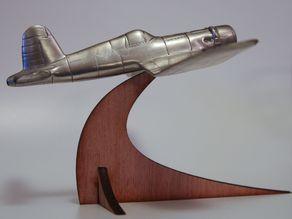 Model plane stand