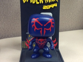 Spiderman 2099 Funko Bobblehead UPGRADE