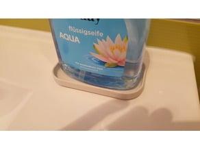 Soap dispenser dish