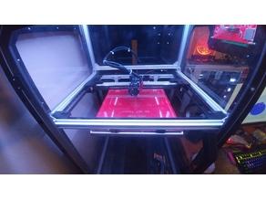 Mooseorama's CoreXY Printer with Profile Rails