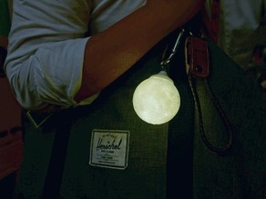 Moon Key Ring