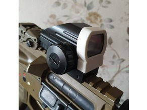 Airsoft scope protector cap