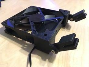 Rimless Aquarium Fan Mount - PC Case Fan
